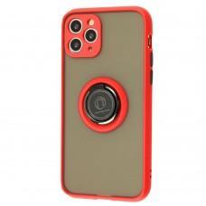 Чехол для iPhone 11 Pro LikGus Edging Ring красный