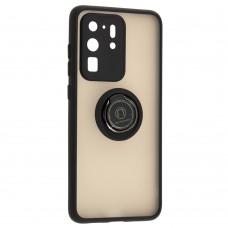 Чехол для Samsung Galaxy S20 Ultra (G988) LikGus Edging Ring черный