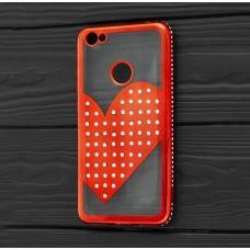 Чехол для Xiaomi Redmi Note 5A Prime Kingxbar сердце красный