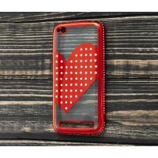 Чехол для Xiaomi Redmi 5a Kingxbar сердце красный