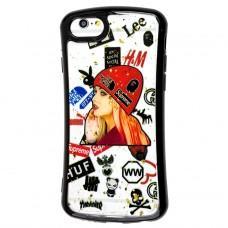 Чехол для iPhone 6 / 6s Glue shining girl fashion