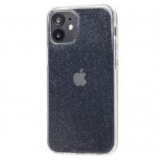 Чехол для iPhone 12 mini High quality silicone 360 прозрачный