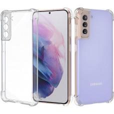 Чехол для Samsung Galaxy S21 (G991) WXD ударопрочный прозрачный