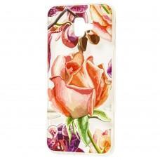 Чехол для Samsung Galaxy J6+ (J610) роза