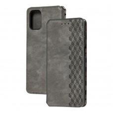 Чехол книжка для Samsung Galaxy M31s (M317) Getman Cubic серый