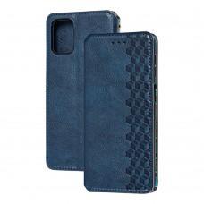 Чехол книжка для Samsung Galaxy M31s (M317) Getman Cubic синий