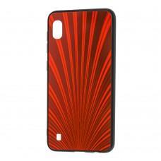 Чехол для Samsung Galaxy A10 (A105) радуга красный