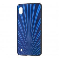 Чехол для Samsung Galaxy A10 (A105) радуга синий