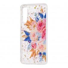 """Чехол для Xiaomi Mi 9 Flowers Confetti """"кустовая роза"""""""