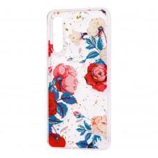 """Чехол для Xiaomi Mi 9 Flowers Confetti """"роза"""""""