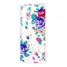"Чехол для Xiaomi Mi 9 Flowers Confetti ""цветы"""