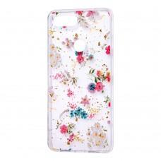 """Чехол для Xiaomi Mi 8 Lite Flowers Confetti """"полевые цветы"""""""
