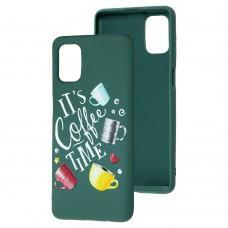 Чехол для Samsung Galaxy M31s (M317) Art case темно-зеленый