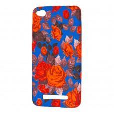 Чехол Star Case для Xiaomi Redmi 4a красные розы