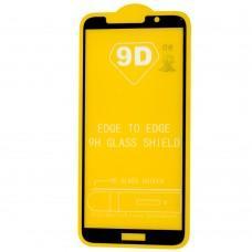 Защитное стекло для Huawei Y5P 2020 Full Glue черное (OEM)