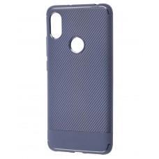 Чехол для Xiaomi Redmi S2 Carbon синий