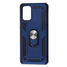 Чехол для Samsung Galaxy S20+ (G985) Serge Ring ударопрочный синий