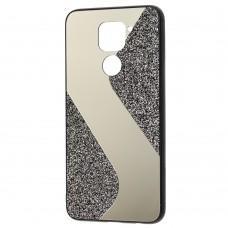 Чехол для Xiaomi Redmi Note 9 Shine mirror черный