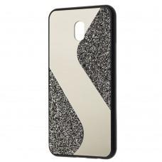 Чехол для Xiaomi Redmi 8A Shine mirror черный