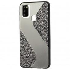 Чехол для Samsung Galaxy M31 (M315) Shine mirror черный
