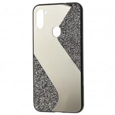 Чехол для Samsung Galaxy A11 / M11 Shine mirror черный