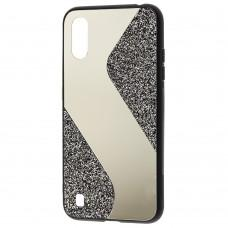 Чехол для Samsung Galaxy A01 (A015) Shine mirror черный