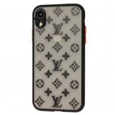 Чехол для iPhone Xr LikGus ЛВ черный дизайн 1