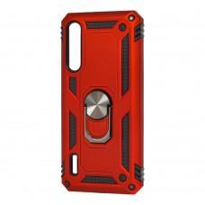 Чехол для Xiaomi Mi A3 Pro / Mi CC9 Serge Ring ударопрочный красный