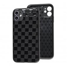 Чехол для iPhone 12 Pro Leather case куб
