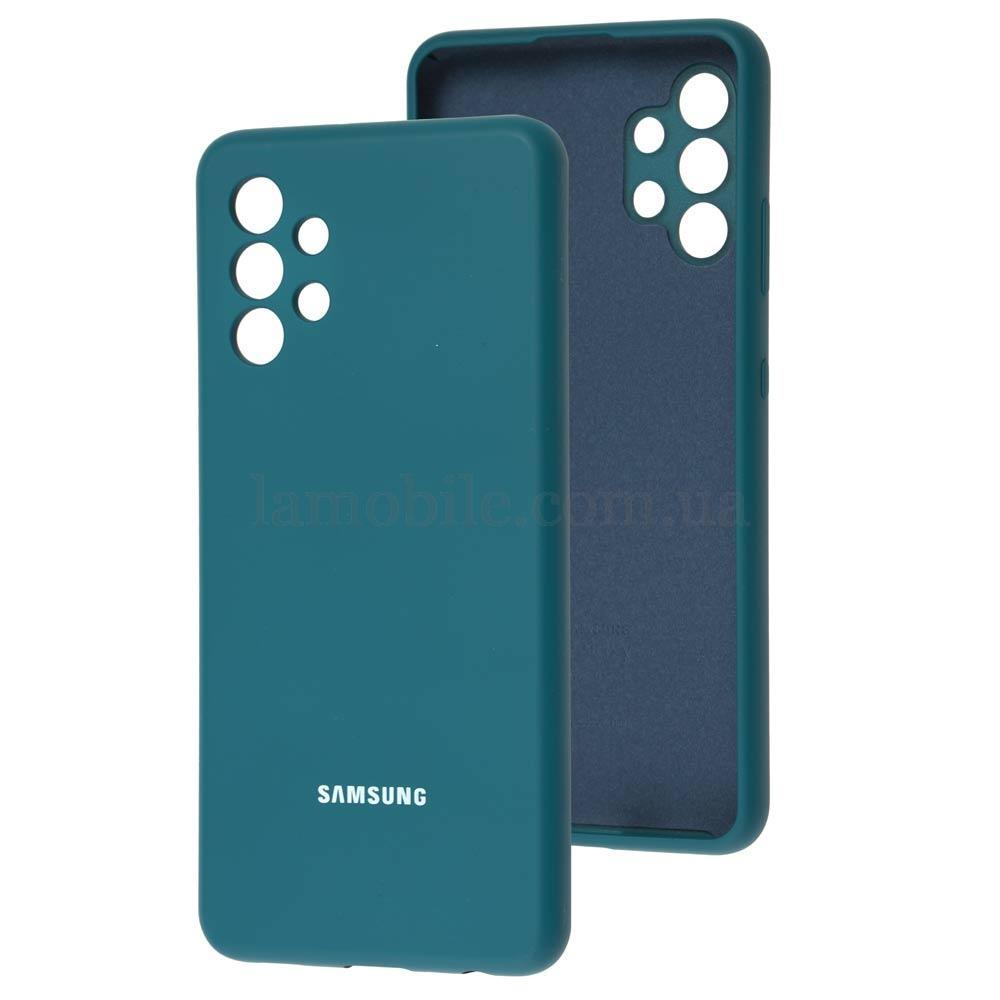 Чехол для Samsung Galaxy A32 (A325) Silicone Full синий / cosmos blue