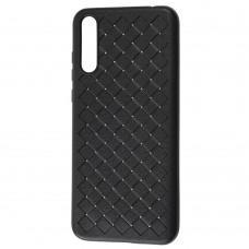 Чехол для Huawei P Smart S Weaving case черный