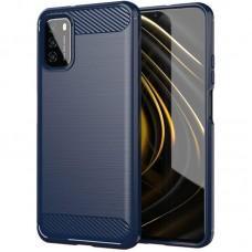 Чехол для Xiaomi Poco M3 Ultimate Experience синий