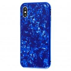 Чехол для iPhone X / Xs Magnette Full 360 Jelly синий