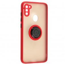 Чехол для Samsung Galaxy A11 / M11 LikGus Edging Ring красный