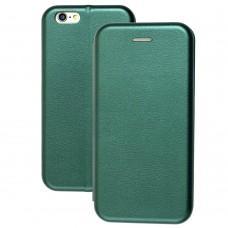 Чехол книжка Premium для iPhone 6 зеленый