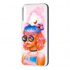 Чехол для Huawei P40 Lite E Girls UV dreams
