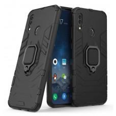 Чехол для Huawei P Smart Z Transformer Ring ударопрочный с кольцом черный