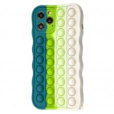 Чехол для iPhone 12 Pro Max Pop it colors антистресс дизайн 6