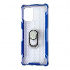 Чехол для Samsung Galaxy S10 Lite (G770) CrystalRing синий