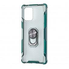 Чехол для Samsung Galaxy S10 Lite (G770) CrystalRing зеленый