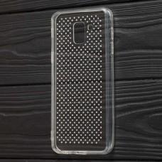 Чехол для Samsung Galaxy A6 2018 (A600) Unique Skid Ultrasonic прозрачный