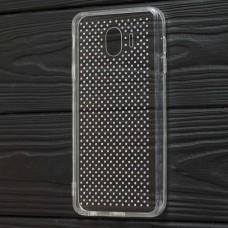 Чехол для Samsung Galaxy J4 2018 (J400) Unique Skid Ultrasonic прозрачный