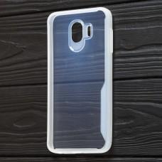 Чехол для Samsung Galaxy J4 2018 (J400) Simple белый