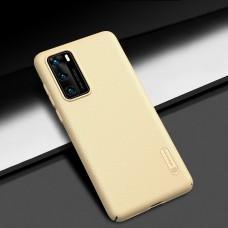 Чехол Nillkin Matte для Huawei P40 Pro золотистый