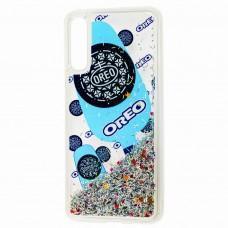 Чехол для Samsung Galaxy A50 / A50s / A30s Блестки вода new oreo