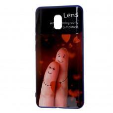 """Чехол для Xiaomi Redmi 8A Gelius QR """"пальцы"""""""