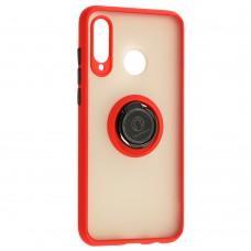 Чехол для Huawei P30 Lite LikGus Edging Ring красный