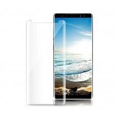 Защитное стекло 3D для Samsung Galaxy Note 8 UV прозрачное