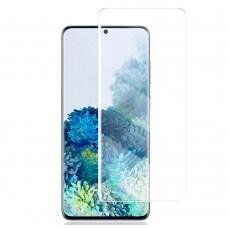 Защитное 3D стекло для Samsung S20+ (G985) UV прозрачное