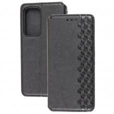 Чехол книжка для Huawei P40 Getman Cubic черный